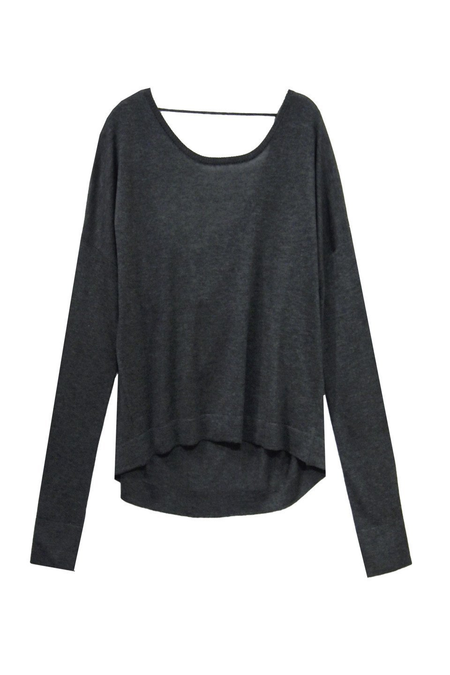 Back Panel Sweater