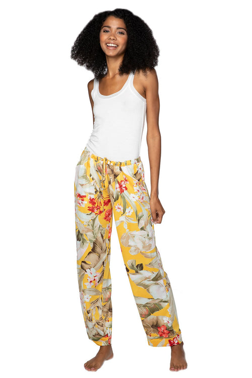 Bailey Beach Pant in Golden Hour