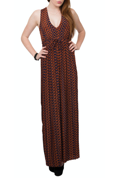 Sale-Vintage Inspired Pleated Maxi Dress