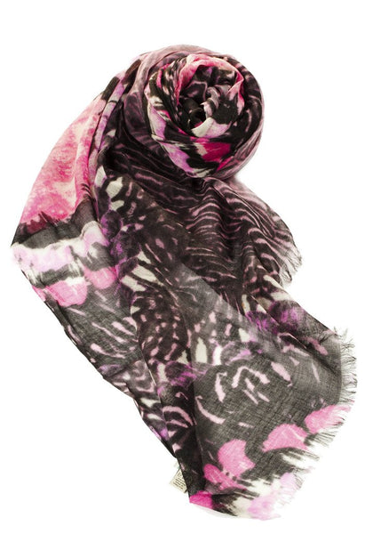 Painted Garden Print Scarf by Spun - Subtle Luxury