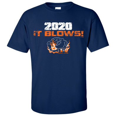 Bowling Green Hot Rods 2020 It Blows! T-shirt
