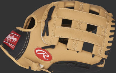 Rawlings Brown and Black Youth Glove