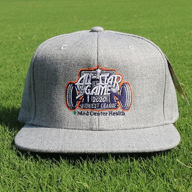 Bowling Green Hot Rods All-Star Game Adjustable - Grey