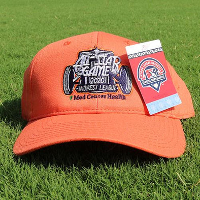 Bowling Green Hot Rods All-Star Game Adjustable Hat - Orange