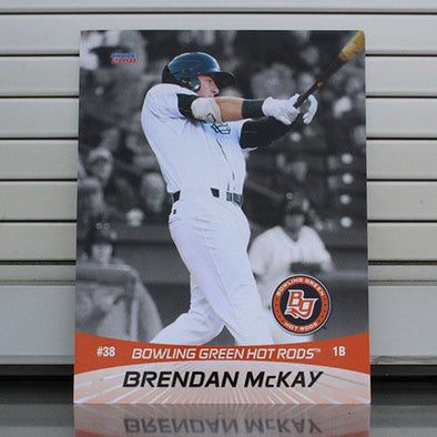 Bowling Green Hot Rods Brendan McKay 8 x 10 Flip Card