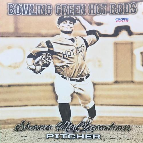 Bowling Green Hot Rods Shane McClanahan 8x10 Sports Card