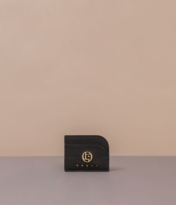 POEII Curve Card Holder Black