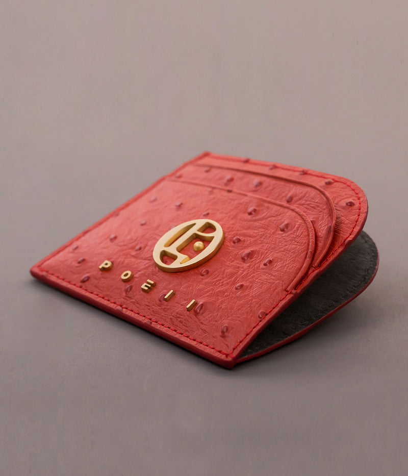 POEII Curve Card Holder Coral