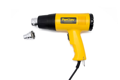 Pistola Aire Caliente Hot Air Gun 2000w Ferton 001 Amarillo