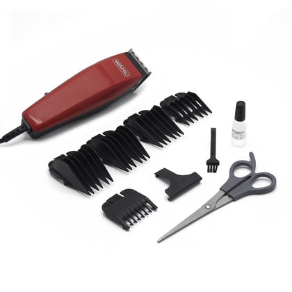 Peluquera Easy Cut Haircutting Kit Wahl Rojo 9314-3208