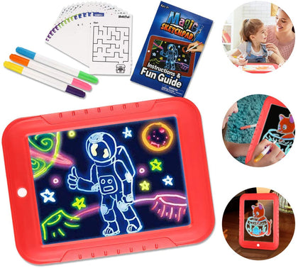 Tablero con Luz LED Para Dibujar Magic Sketchpad 1872-13