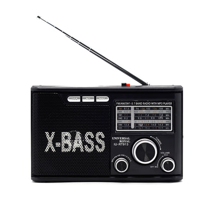 Radio De 7 Bandas Universal Royal IU-RT913BT