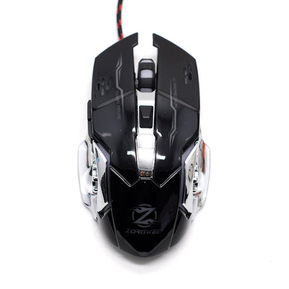 Mouse Backlit Gaming Zornwee Z32 Negro