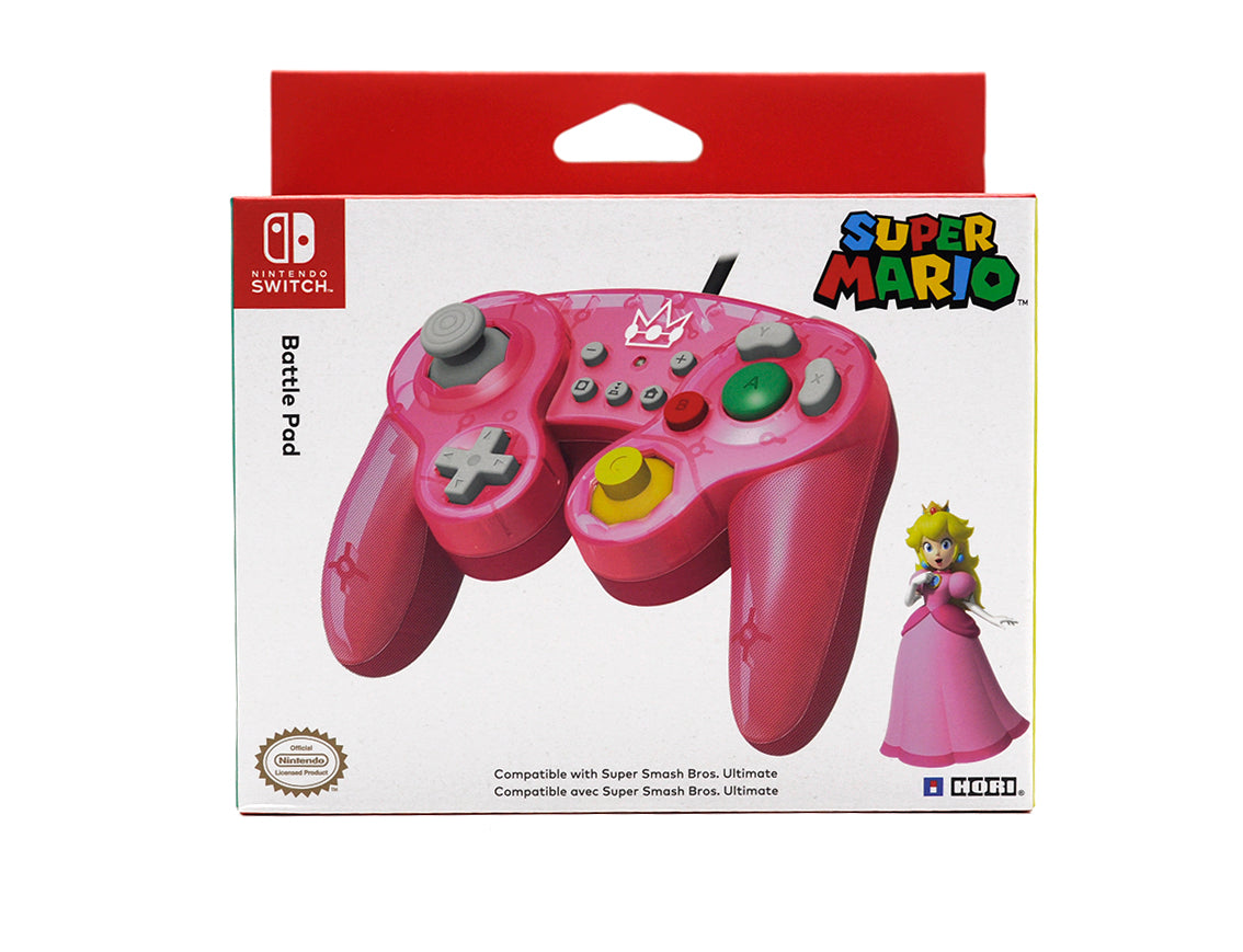 Battle Pad Nintendo Switch Peach