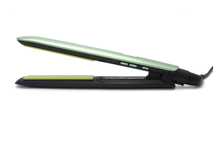 Plancha Alisadora Remington Aguacate Shine Therapy S-9960 verde