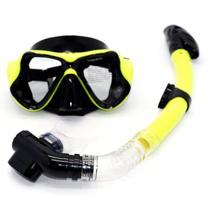 Set de Mascara & Snorkel Professional Swim Mask
