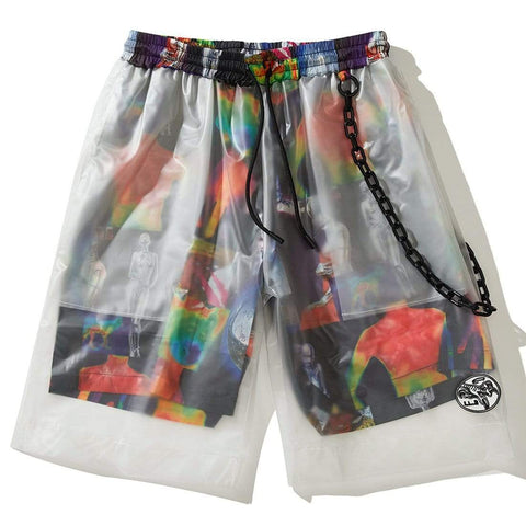 LS-ED PVC DESIGN SHORTS