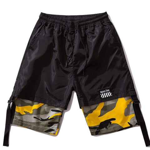 SPACA CAMO BLOCK SHORTS