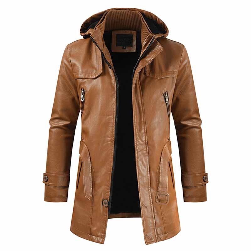 REGALIA LEATHER OVERCOAT