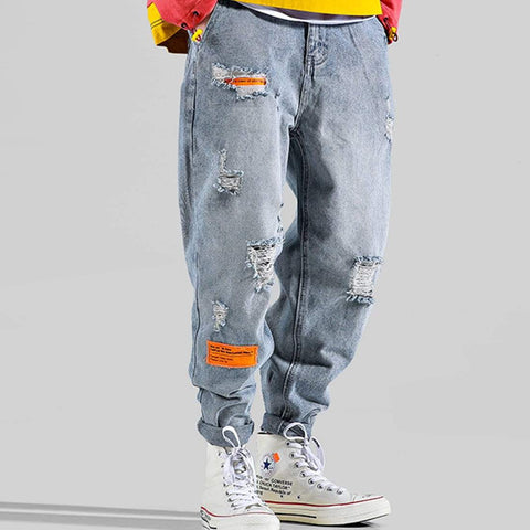 "MTV8 ""ALARM"" DISTRESSED JEANS"