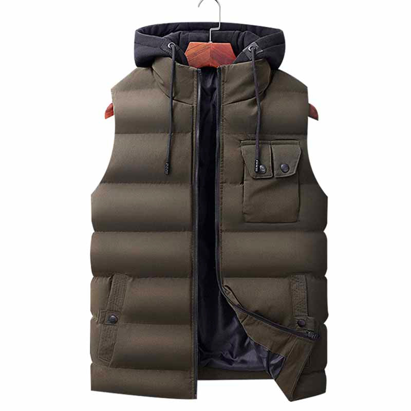 Le Món Detachable Hood Vest