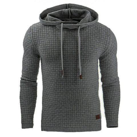 WOODSMAN MENS HOODED PULLOVER