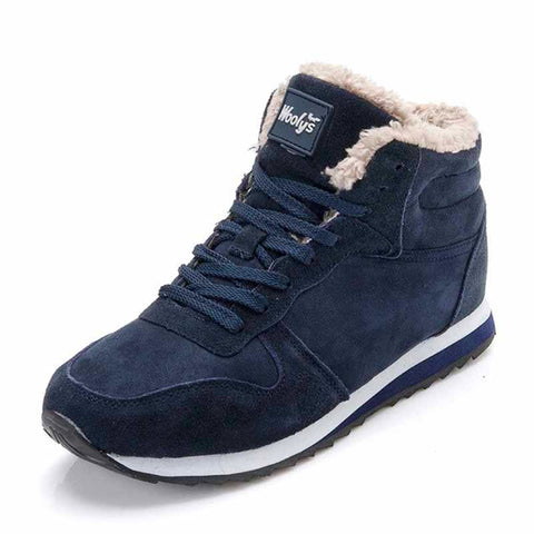 WOOLY FUR SNEAKERS
