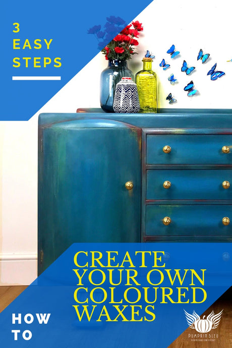3 Easy Steps: How to Create your own Coloured Waxes