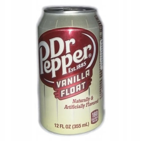 Dr Pepper Vanilla Float