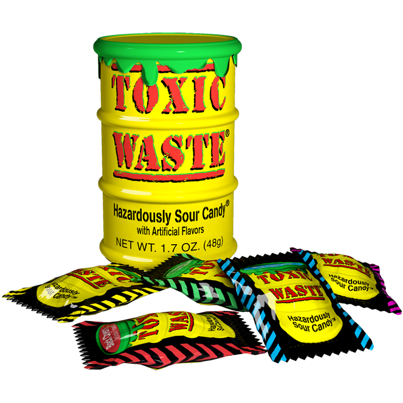 Toxic Waste Yellow