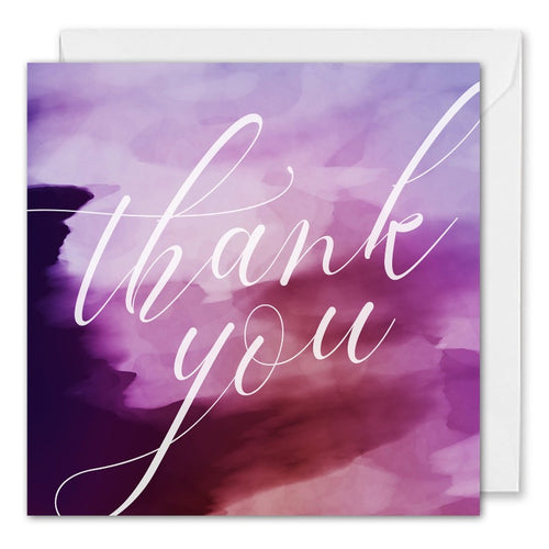 Personalised Corporate Thank You Card