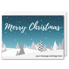 Load image into Gallery viewer, Corporate Christmas Card - Custom Logo, Message