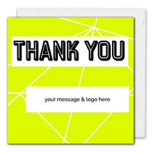 Load image into Gallery viewer, Custom Corporate Thank You Card - Clients, Employees