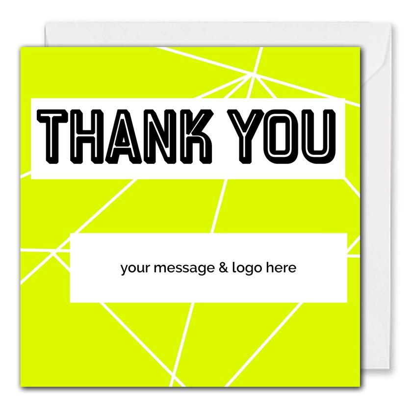 Custom Corporate Thank You Card - Clients, Employees
