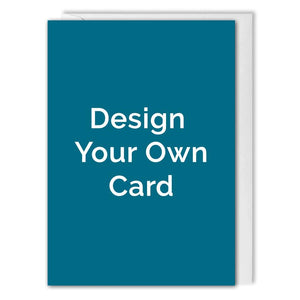 Personalised Business Greetings Card A6 - Design Your Own