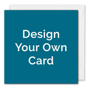 Personalised Business Christmas Card - Design Your Own - Square