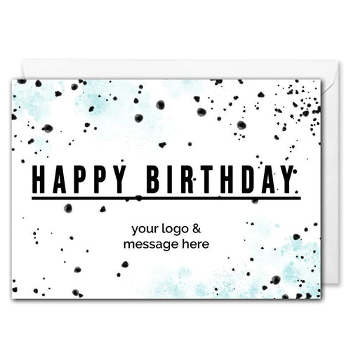 Corporate Birthday Card - Personalised