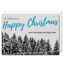 Load image into Gallery viewer, Custom Logo Business Happy Christmas Card