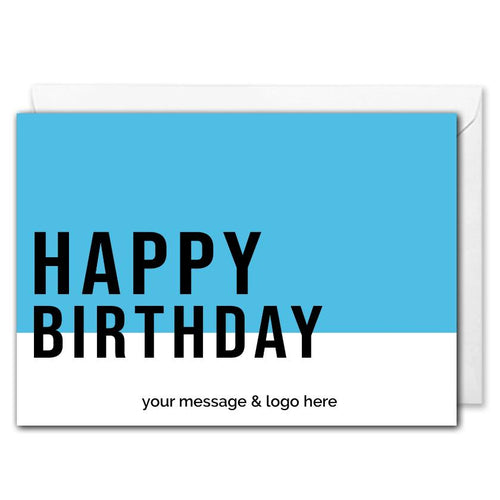 Happy Birthday Card - Clients, Employees - B2B