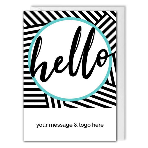 Custom Business Welcome Card - Clients, Employees