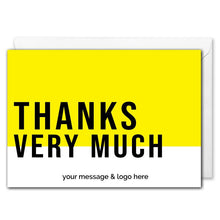 Load image into Gallery viewer, Personalised B2B Thank You Card