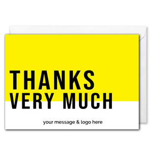 Personalised B2B Thank You Card