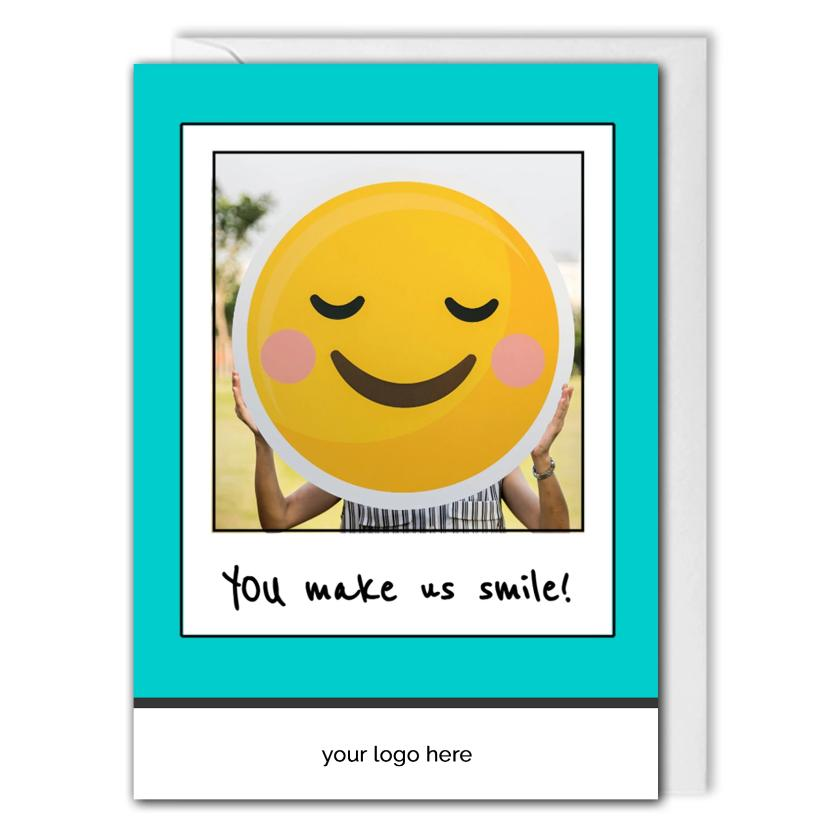 Appreciation Card For Business - Employees, Customers