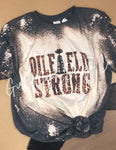 Oil Field Strong Bleached Tee