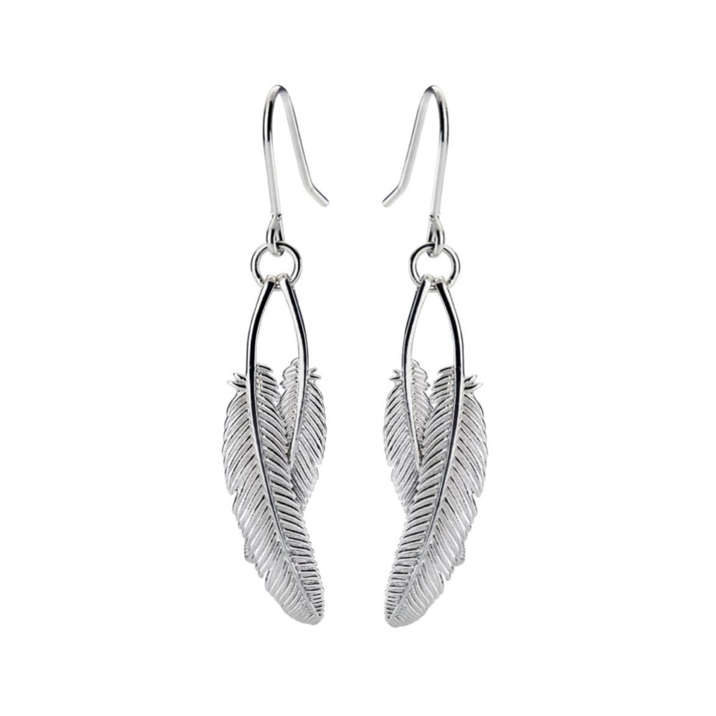 Duo Miromiro Feather Earrings
