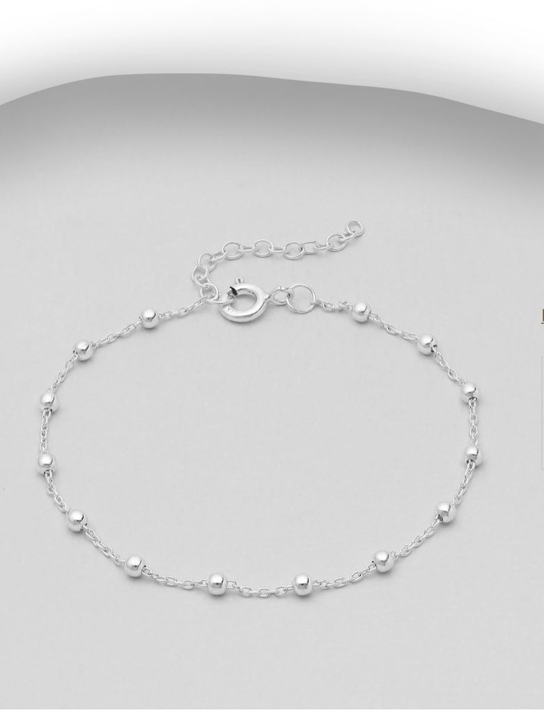 Duck Original Sterling Silver Ball Bracelet