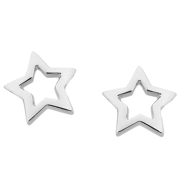 Karen Walker Mini Star Earrings
