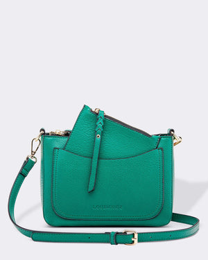 Venice Cross Body Bag Louenhide Green