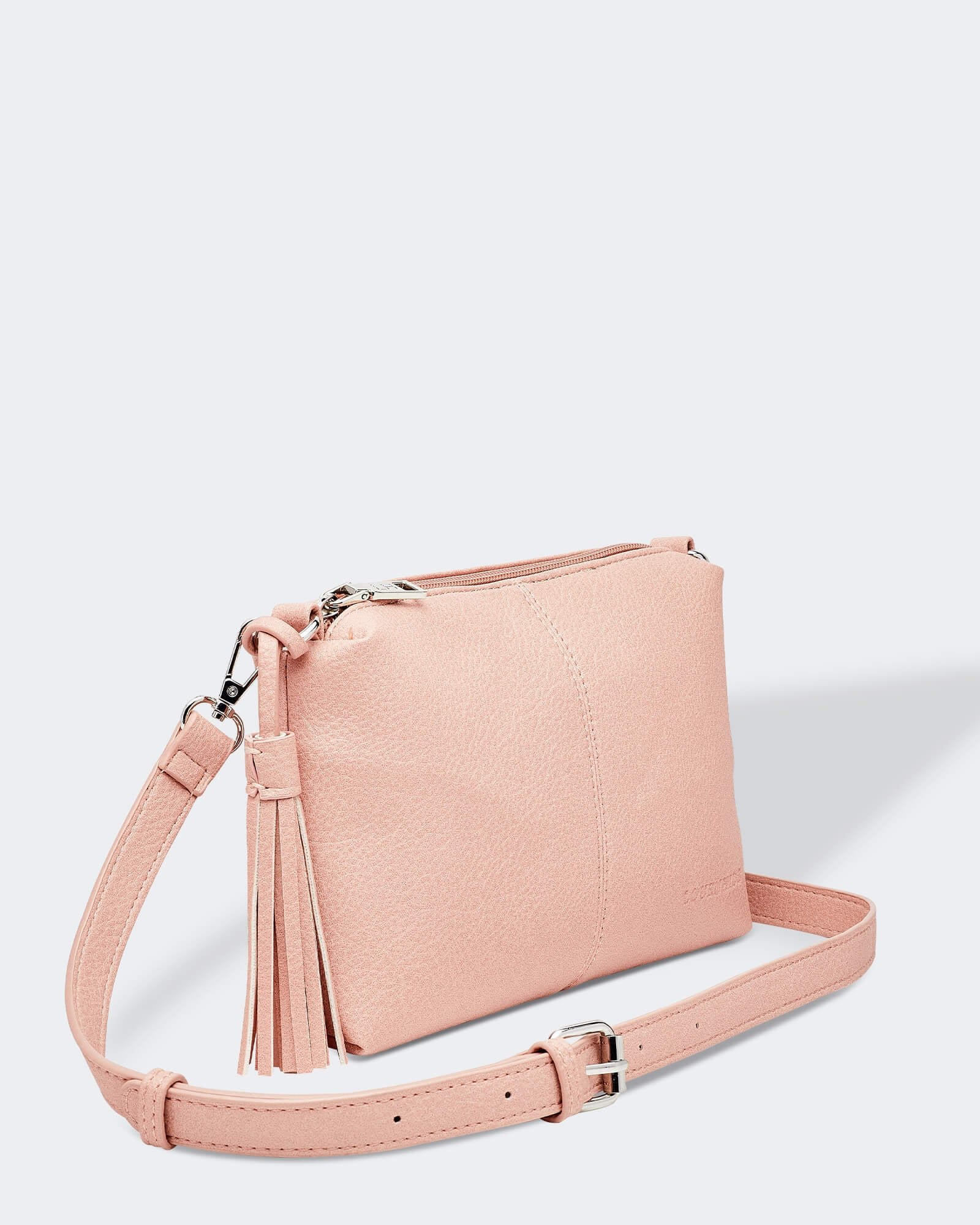 Baby Daisy Cross body Bag Louenhide Pale Pink PU