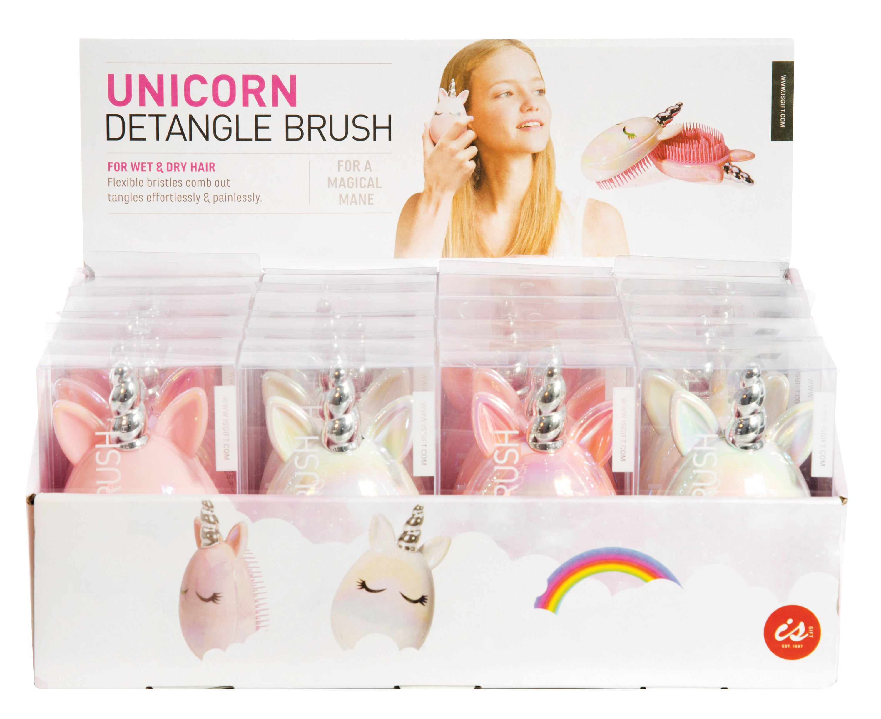 Unicorn Detangle brush